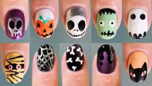 Diseños De Unas Para Halloween Uñas Escalofriantes